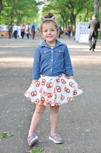 Sincerely Scout Pretzel Treasure Pocket Skirt