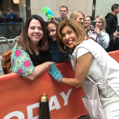 We love Hoda! She is so sweet!!