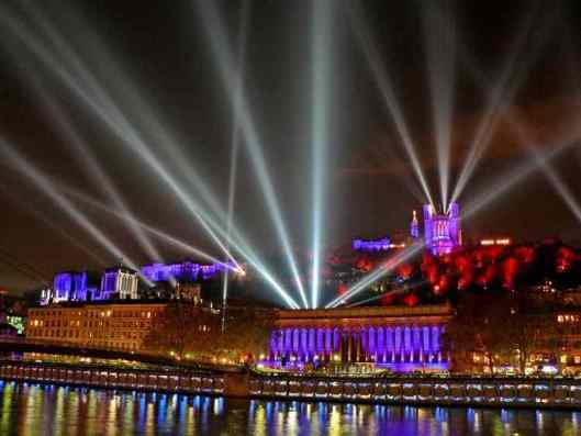 Festival of Lights Lyon - La Fête de Lumiere Lyon