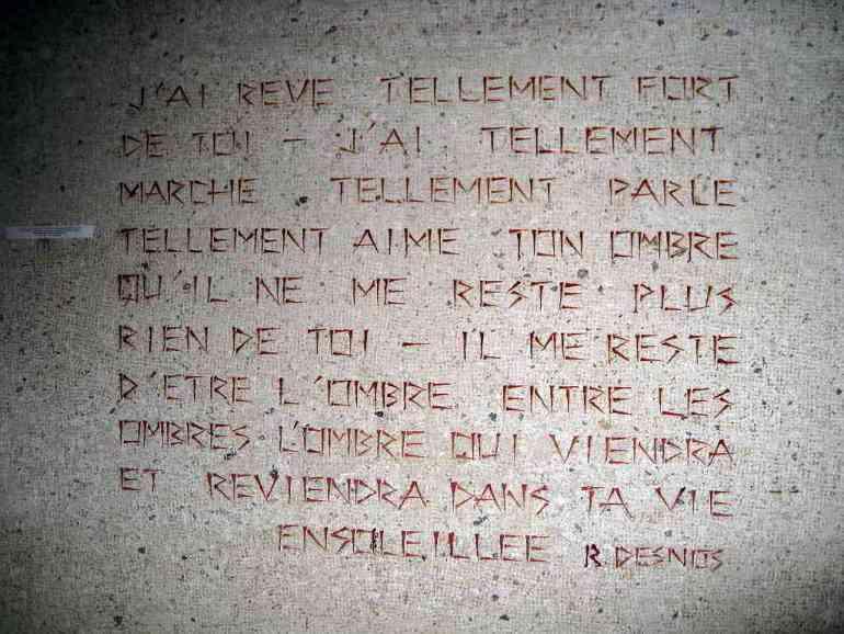 Le dernier Poème, Robert Desnos 1945