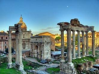 Roman Temple - fête des rois