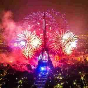 Bastilles Day in Paris