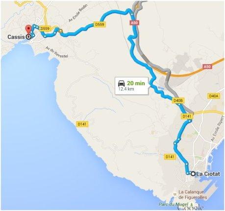 Crête des Corniches - Calanque de Figuerolles - From La Ciotat to Cassis
