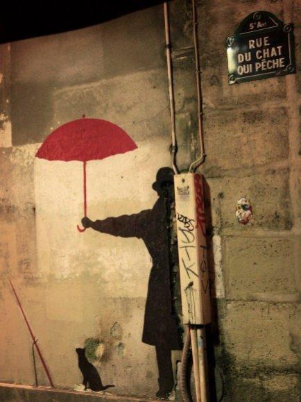 Friday Fun Facts - Artist NEMO peint sur un mur de la rue par Némo