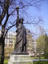 Friday Fun Facts Statue of Liberty Paris - Jardin Luxembourg