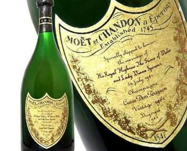 French Champagne - Moet et Chandon Princess Diana