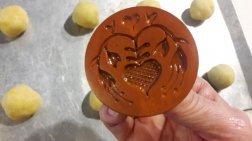 French Butter Cookies - Sablés Normand - Select cookie stamp or flat bottomed glass