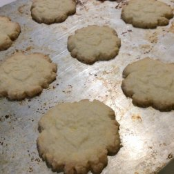 French Butter Cookies - Sablés Normand - Bake cookies for 10-12 minutes