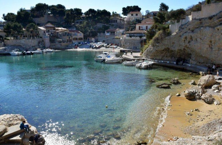 Provence's Côte Bleue - Niolon - The Côte Bleue