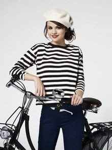 La Marinière - French Sailor's Shirt - biking
