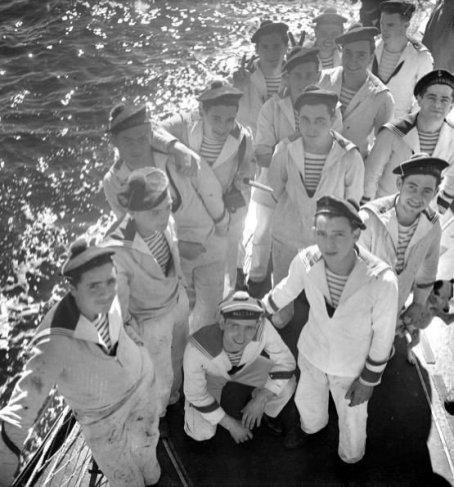 La Marinière - French Sailor's Shirt - onboard