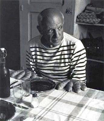La Marinière - French Sailor's Shirt - Pablo Picasso