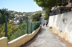 Provence's Blue Coast - path