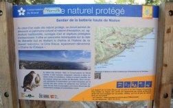 La Côte Bleue depuis Niolon - Provence's Côte Bleue - Chemin des Poseurs path entrance