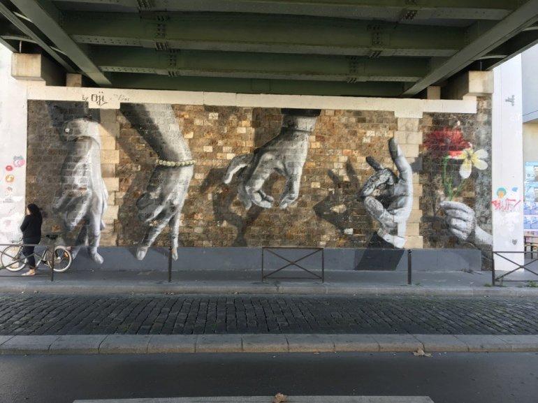 Parisian Street Art - Hands