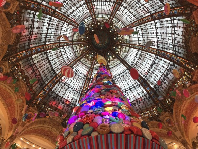 Parisian Holiday Season - Gallerie Lafayette