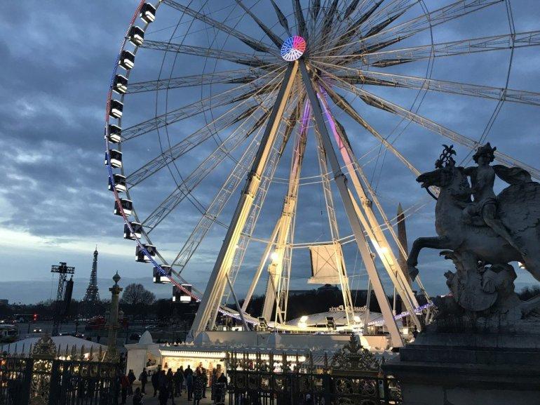 Parisian Holiday Season - Concord Ferris Wheel