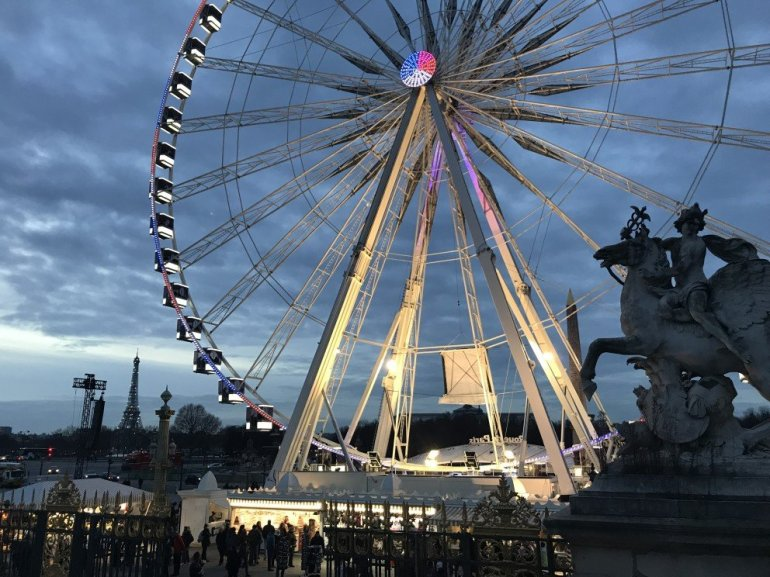 Parisian Holiday Season - Concord Ferris Wheel