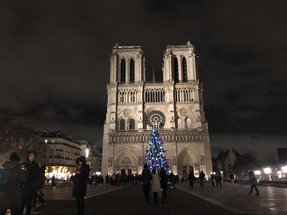 Honoring Notre-Dame-de-Paris - Noel