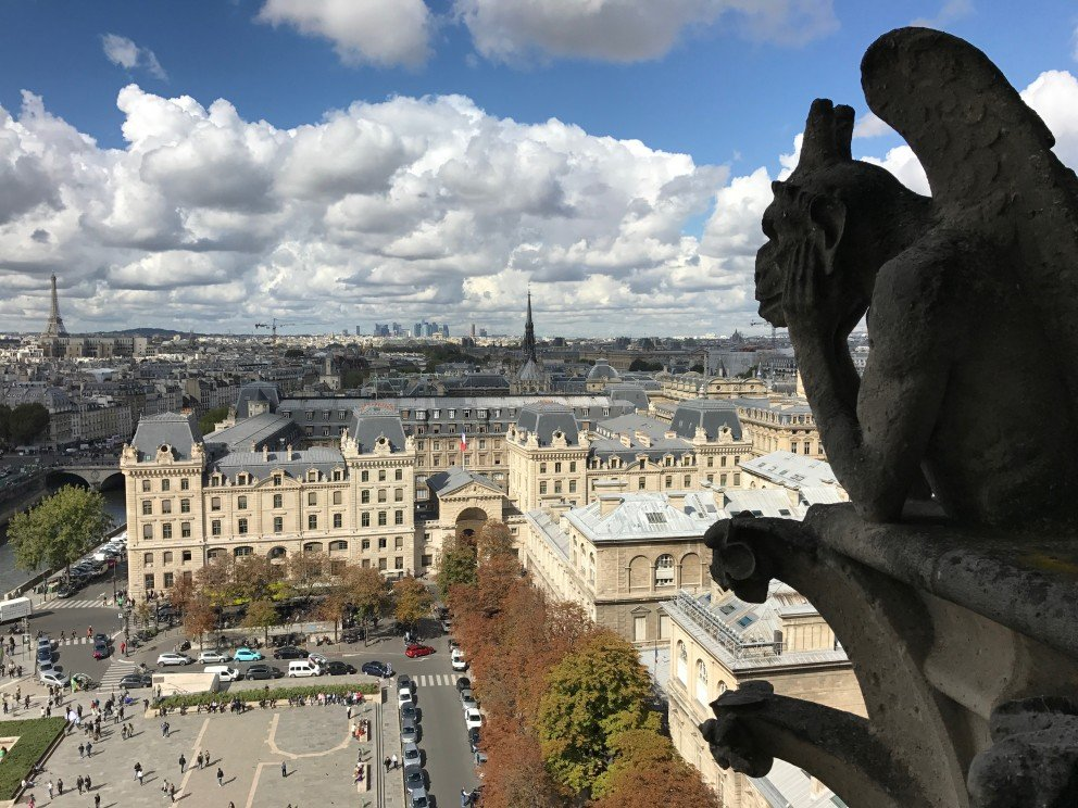 Honoring Notre-Dame-de-Paris - View from above
