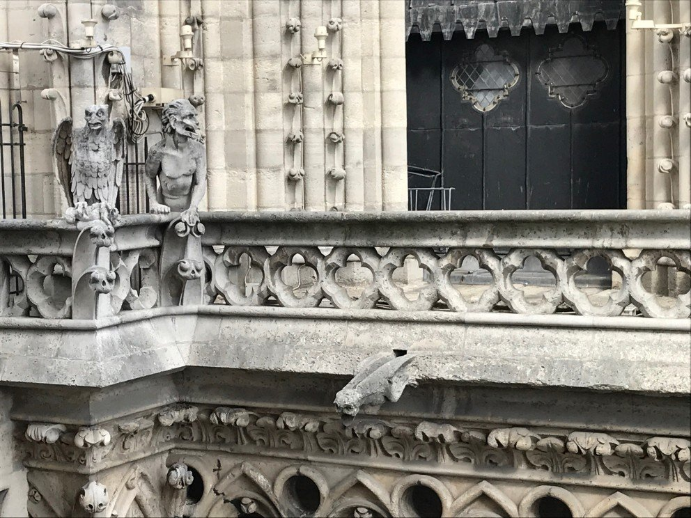 Honoring Notre-Dame-de-Paris - Architecture detail