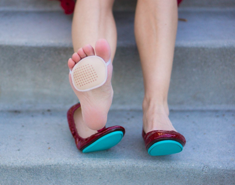 WHAT to wear in PARIS - Tieks with foot pad