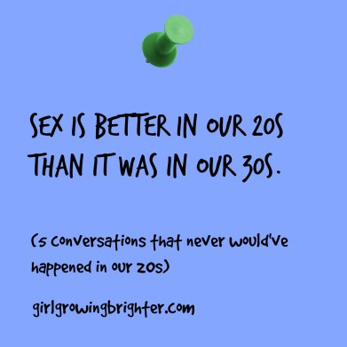 sex is better in 30s