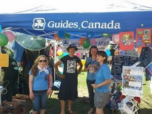 Growing Guiding at Vancouver Pride. Photo courtesy The Daisy Field.