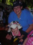 Jenni and her daughter Katie at a Guider/daughter summer camp August 2011