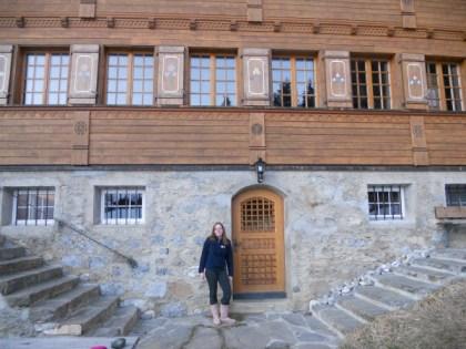 Sophie in Switzerland