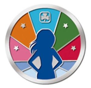 Girl Greatness Award Pin