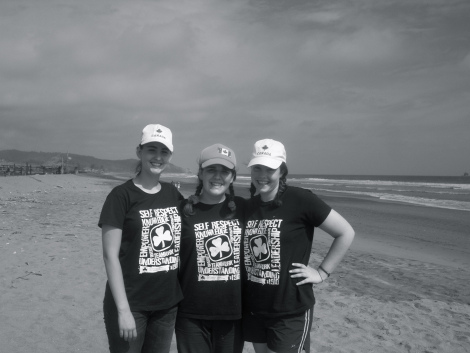 My guiding friends and I on the Ontario Adventure Trip to Ecuador in 2009