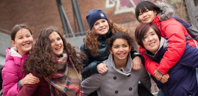 girl guide members