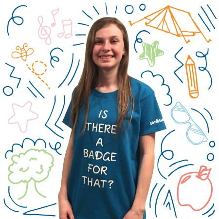 girl guide T-shirt