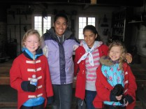 Guides at Fort George National Historic Site Megan Gilchrist