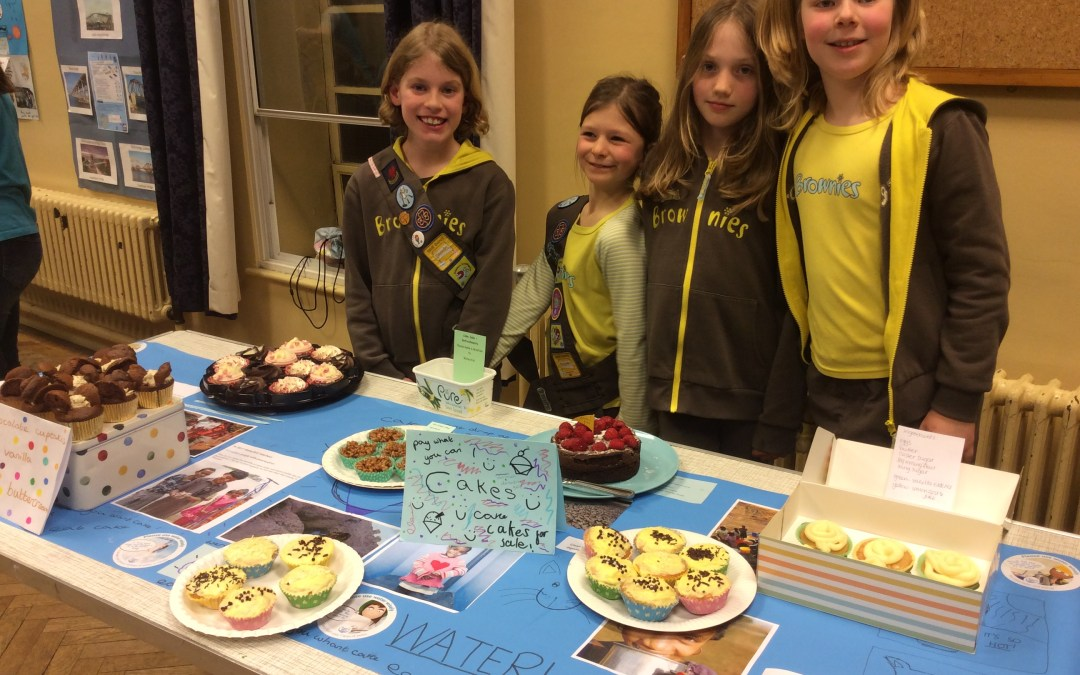 10th Bath Brownies Tackle Their World Issues Badge