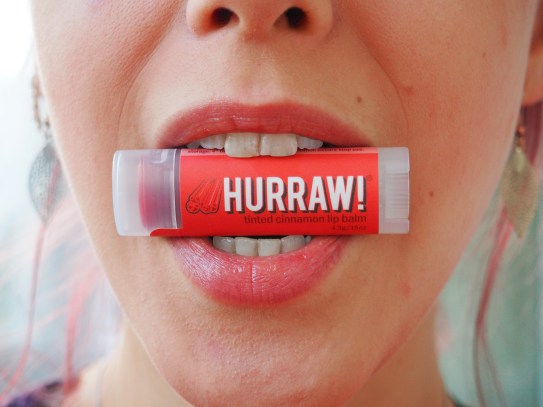 Hurraw Tinted Cinnamon Lip Balm