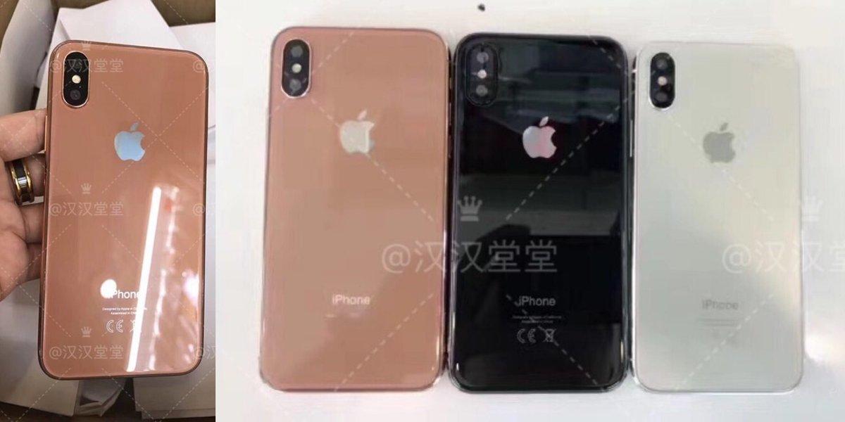 bronzen iPhone