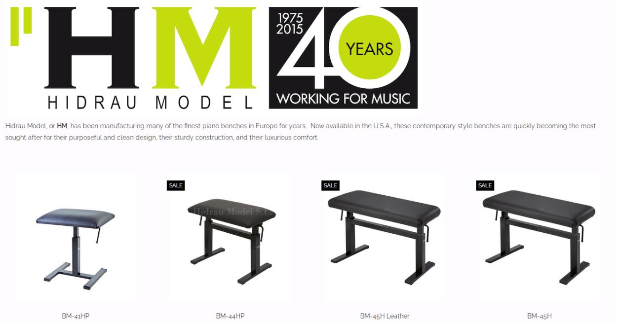 hidrau model bench