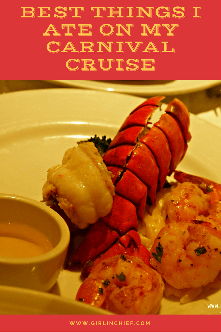 best things I ate on my Carnival Cruise-girlinchief