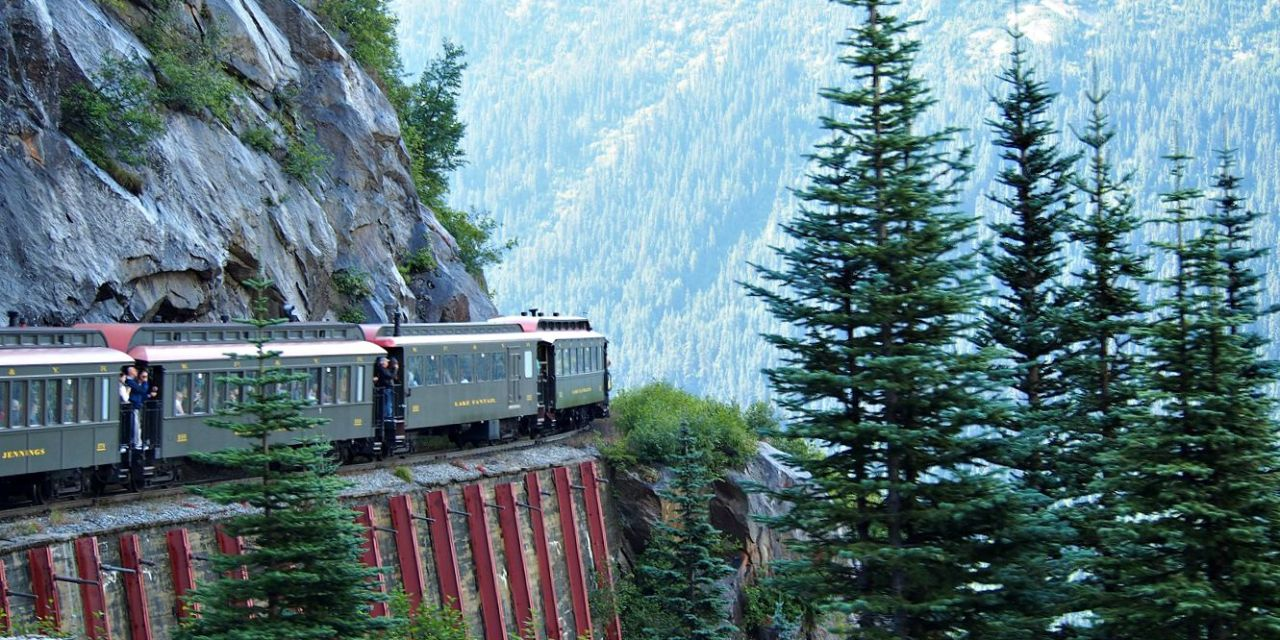 Alaska Cruise: Skagway | Seeing Alaska's Beauty By Train On The White Pass & Yukon Rail