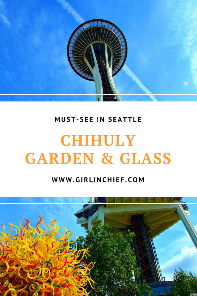 Must-see in Seattle: Chihuly Garden & Glass