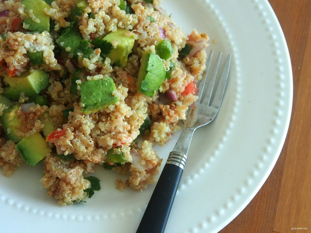 Healthy Quinoa Taco Salad