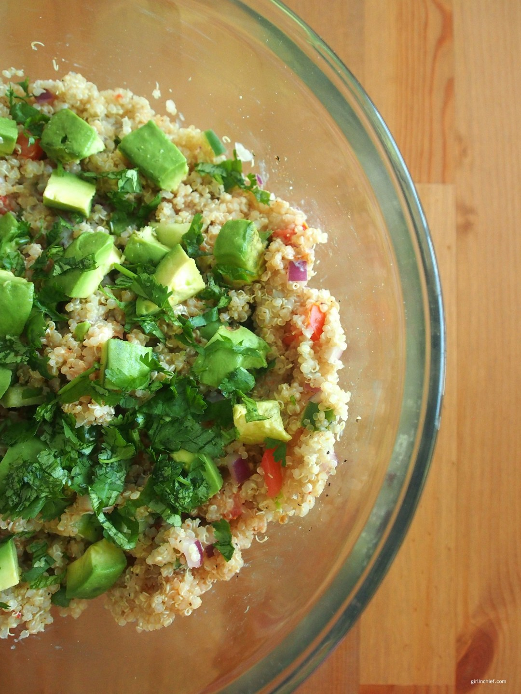 Healthy Quinoa Taco Salad