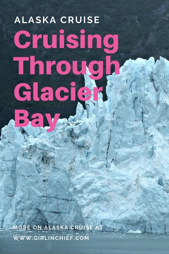 Alaska Cruise: Cruising Through Glacier Bay #alaska #alaskacruise #glacierbay #glacierbayalaska #alaskacruiseportofcall
