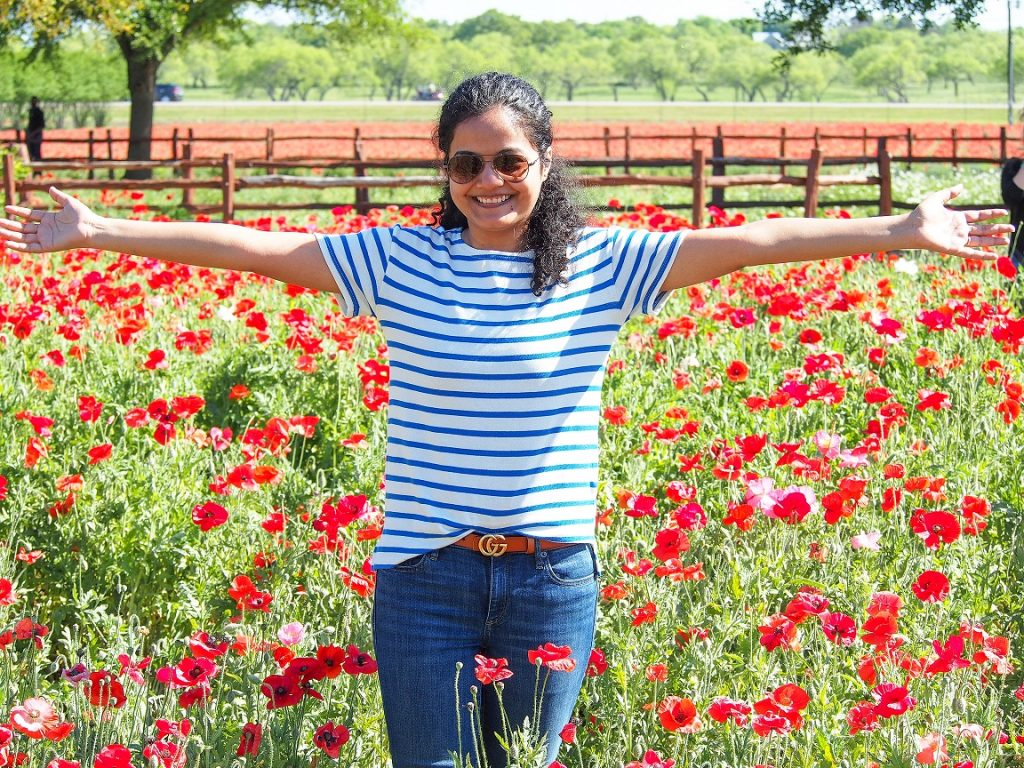 The Poppy Fields at Wildseed Farms, Fredericksburg TX