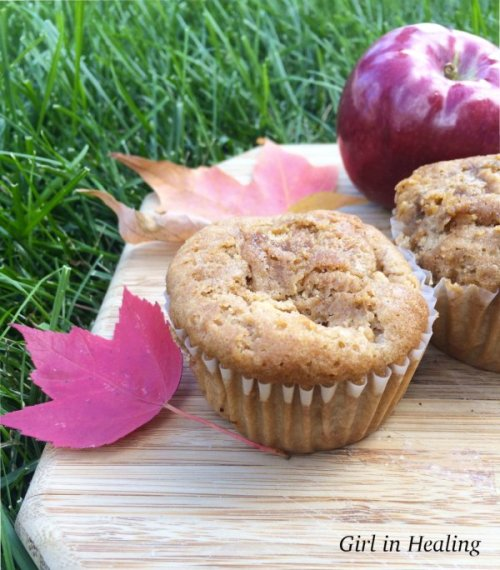 Gluten Free Cinnamon Apple Muffins