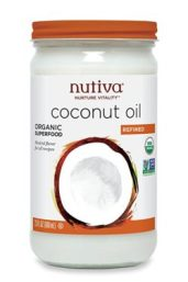 Nutvia organic refined coconut oil