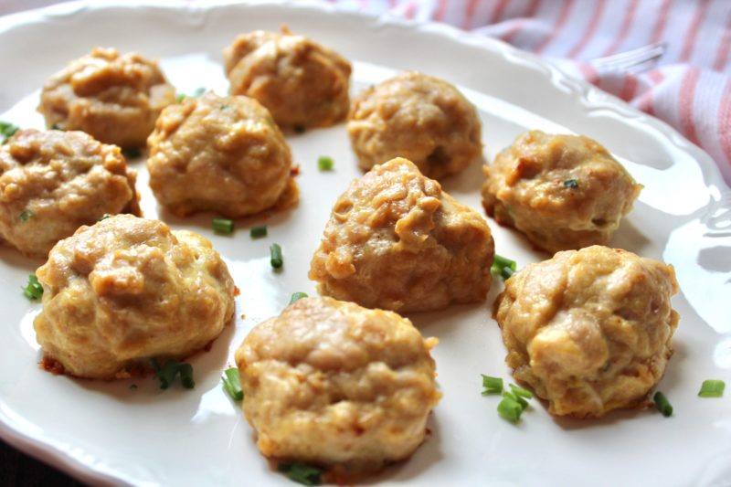 Chicken Meatballs: Gluten Free, Dairy Free, Paleo, Whole30