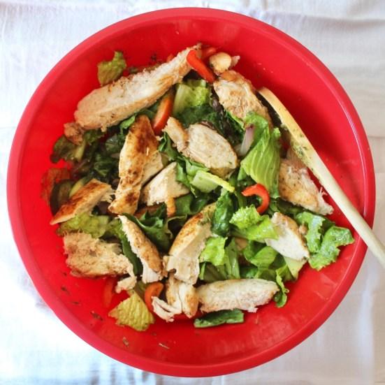 [ad] Green Chef Keto Chicken Fajita Salad